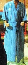 Brad's bathrobe